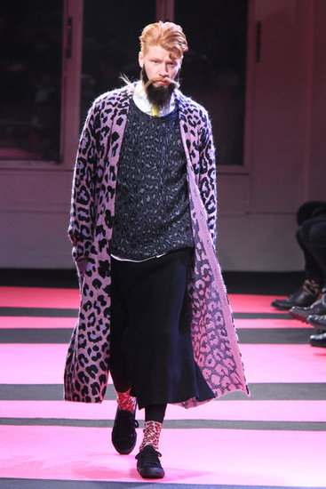 Yohji Yamamoto Fall 2013