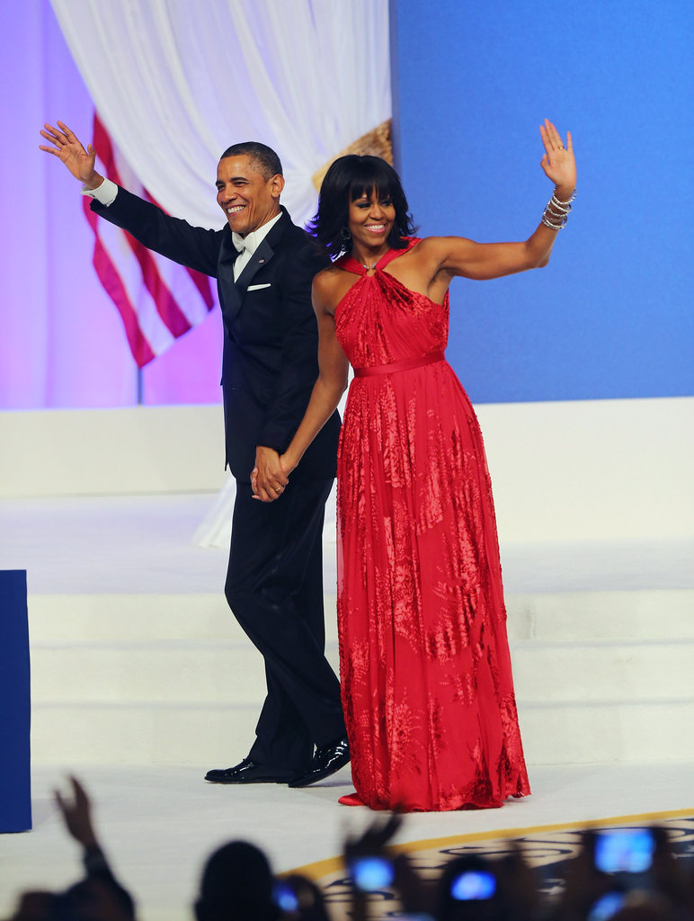 Obamas at the Ball