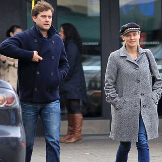 Joshua Jackson and Diane Kruger at a Sports Bar in Vancouver
