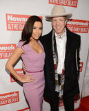 Texan Eva Longoria posed with American political advisor Mark McKinnon at The Daily Beast Inauguration brunch.