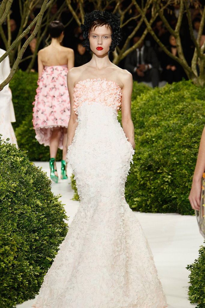 The Top 10 Looks From Christian Dior's Botanical Spring Couture Show