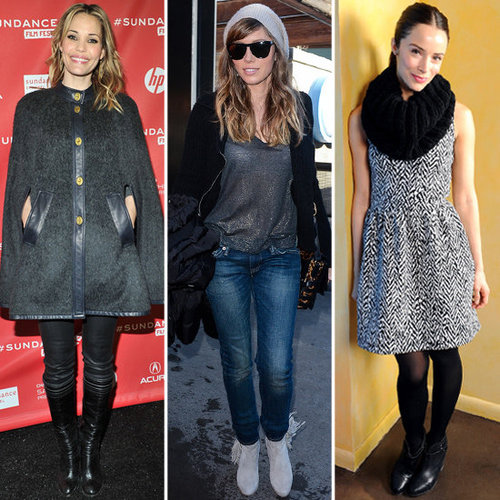 Pictures of Celebrity Style at 2013 Sundance Film Festival