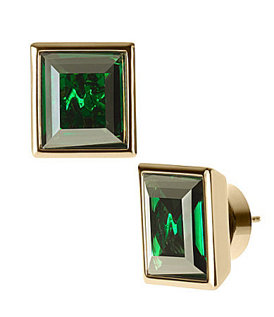 The name says it all — Michael Kors's Cocktail Party Emerald Stud Earrings ($65) should be your go-to happy hour accessories.