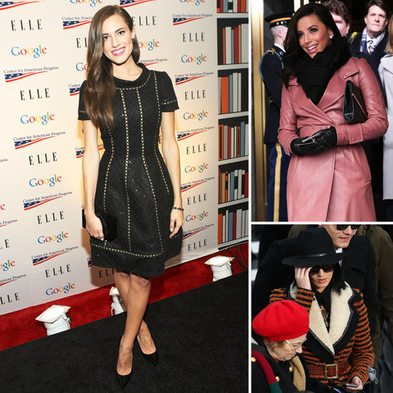 Allison Williams, Katy Perry, and More Step Out For Obama's Inauguration