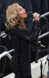 Beyoncé's stunning Emilio Pucci gown hugged her curves perfectly.