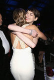 Emily Blunt and Anne Hathaway