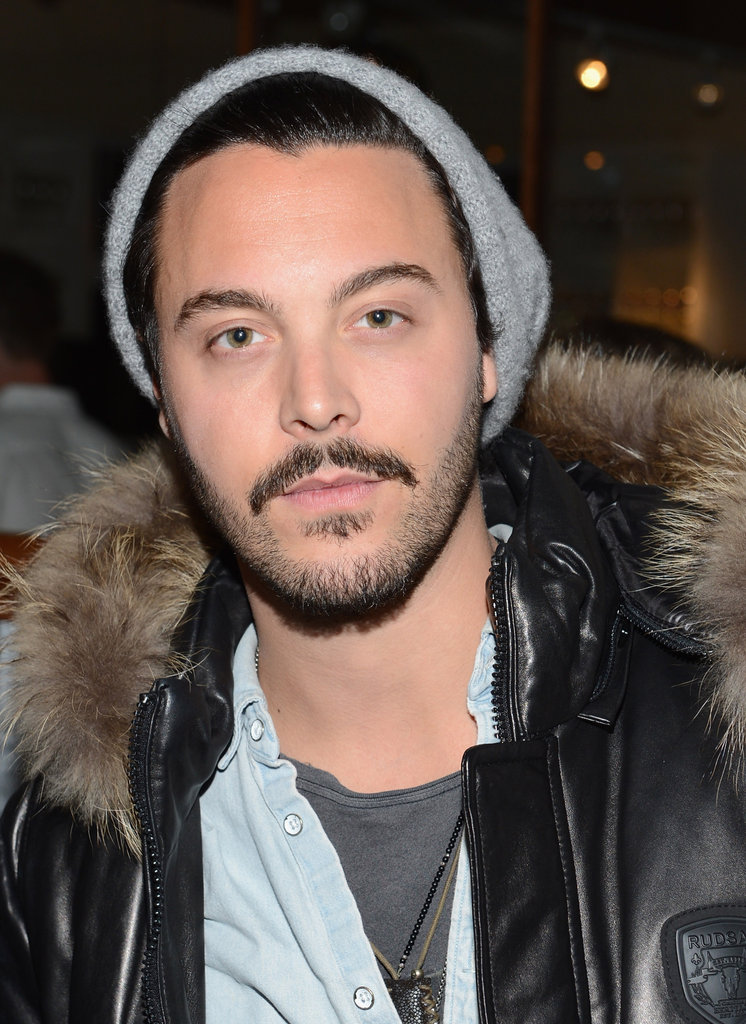 Boardwalk Empire's Jack Huston gave a sexy stare.