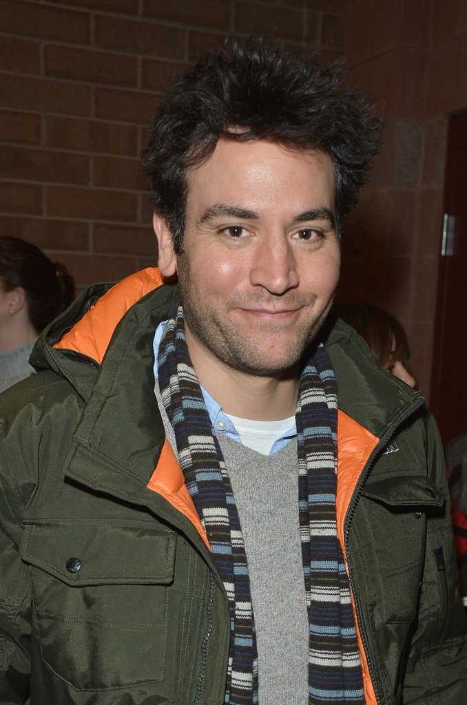 Josh Radnor sported a sweet smirk at Sundance.