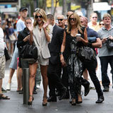 Jennifer Hawkins Looked Chic for Australia's Next Top Model Sydney Audition