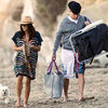 Channing Tatum and Jenna Dewan at the Beach in LA | Pictures