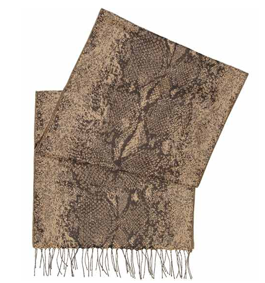 Throw this Reiss snake-print scarf ($25, originally $85) over just about anything for instant chic. We would especially love to see it with a pair of ripped boyfriend jeans.