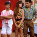 Bayside must have had zero dress code, because a teeny-tiny, floral body-con dress would not have been appreciated at our high school. Unsurprisingly, Kelly nails it. Also, sweet lace shorts, Lisa!