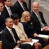 Michelle Obama and Barack Obama at National Prayer Service