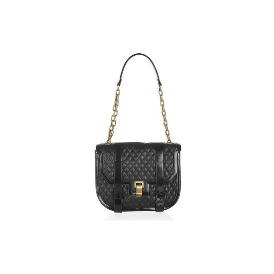 Classic chain-strap? Tick. Cool-as quiliting? Tick. Always-in-style-black? Tick. This Proenza Schouler carryall is the ultimate non-IT-bag bag Bag, approx $982 (was approx $2,333), Proenza Schouler at Net-a-Porter