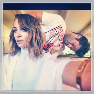 Nicole Richie's New Haircut | 2013