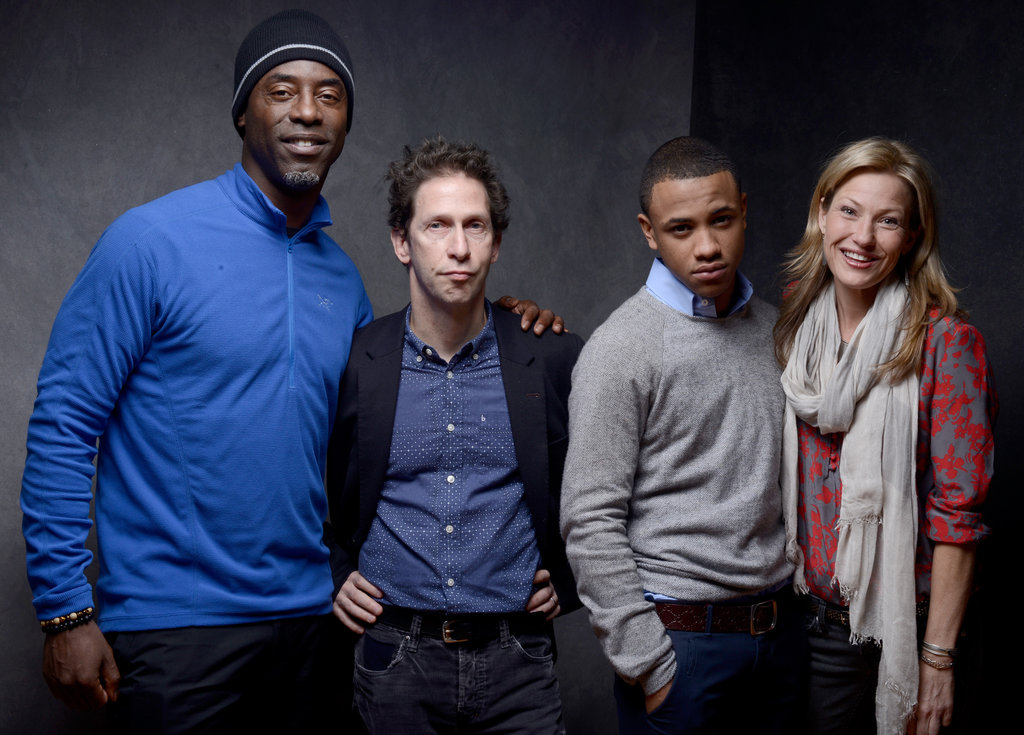 Isaiah Washington, Tim Blake Nelson, Tequan Richmond and Joey Lauren Adams made up the cast at Sundance on behalf of Blue Caprice.