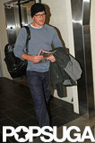 Matt Damon stepped out at LAX.