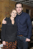 Jake Gyllenhaal and Naomi Foner posed for photos at the Very Good Girls premiere party in Park City, UT.