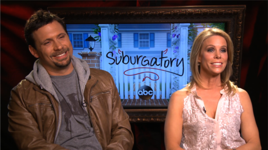 Suburgatory's Jeremy Sisto and Cheryl Hines on Valentine's Mishaps and New Guest Stars