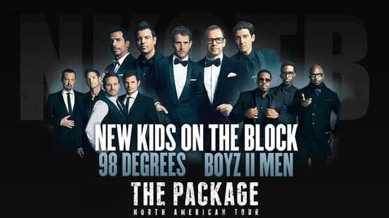 Video: '90s Boy Bands Are Back! NKOTB, Boyz II Men, and 98 Degrees Go on Tour!