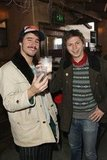 "Michael Cera and Agustin Silva said ""cheers"" to Sundance on Wednesday."