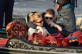 Luisana Lopilato and Michael Bublé snuggled up on a gondola ride in Venice in April 2011.
