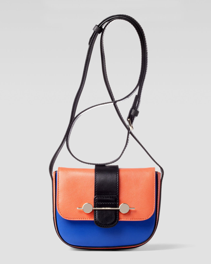 Jason Wu's Daphne colorblocked mini ($995) is a statement piece that will last you for seasons to come.