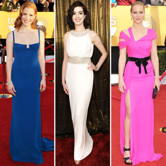 82 Striking Red-Carpet Looks From SAG Awards Past