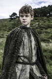 In season three, Brann gets some company from Jojen Reed (Thomas Brodie Sangster — remember him from Love Actually?).