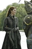 Catelyn Stark (Michelle Fairley) must suffer the consequences of letting Jaime Lannister go.