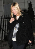 Kate Moss Goes Natural Around London and on Love Magazine