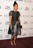 Tracee Ellis Ross attended the Elle Women in TV event.