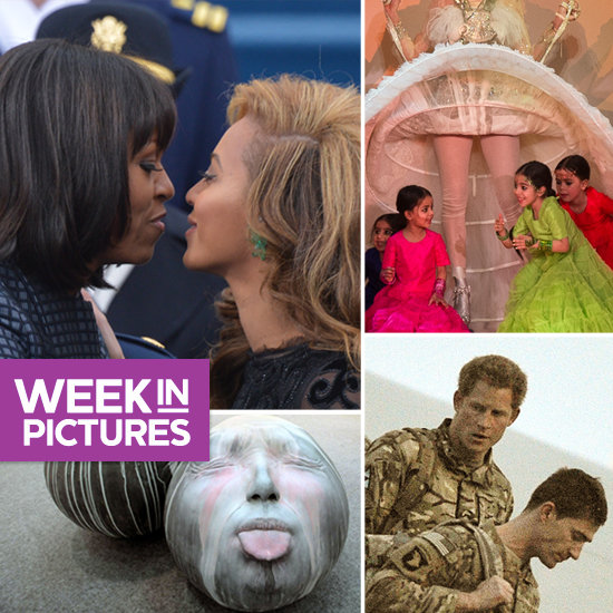 FLOTUS and Beyoncé Get Close, Paris Does Haute, and Harry Heads Home