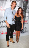 Luke Mitchell and Rebecca Breeds