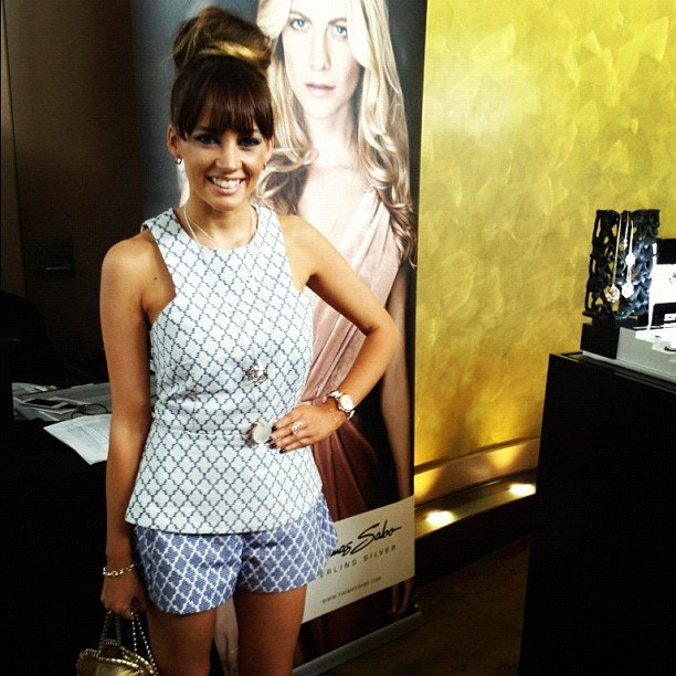 Samantha Jade got dressed up for a Thomas Sabo event. Source: Instagram user samantha_jade_music