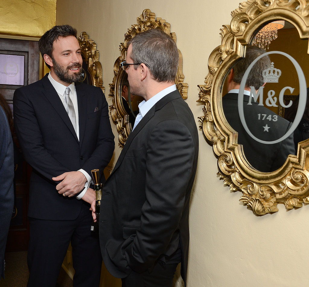 Matt Damon and Ben Affleck chatted at the Santa Barbara International Film Festival.