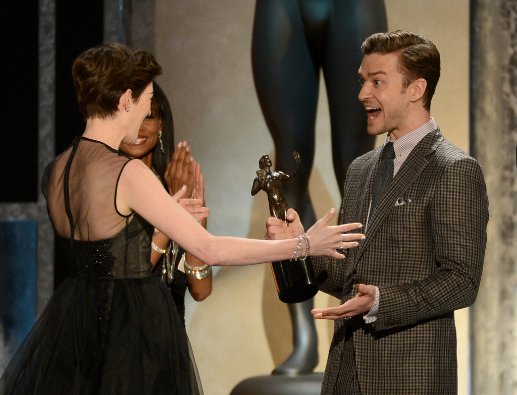 Anne Hathaway and Justin Timberlake