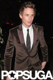 Eddie Redmayne went to the  Chateau Marmont following the SAG Awards in LA.