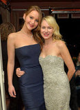 Jennifer Lawrence hung out with Naomi Watts at The Weinstein Company's post-SAGs party.