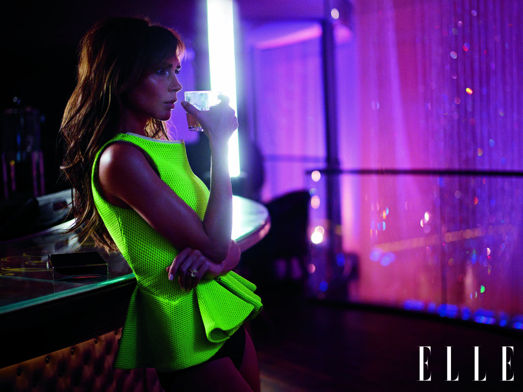 Victoria Beckham posed for March 2013's Elle UK. Photos courtesy Carter Smith for Elle UK