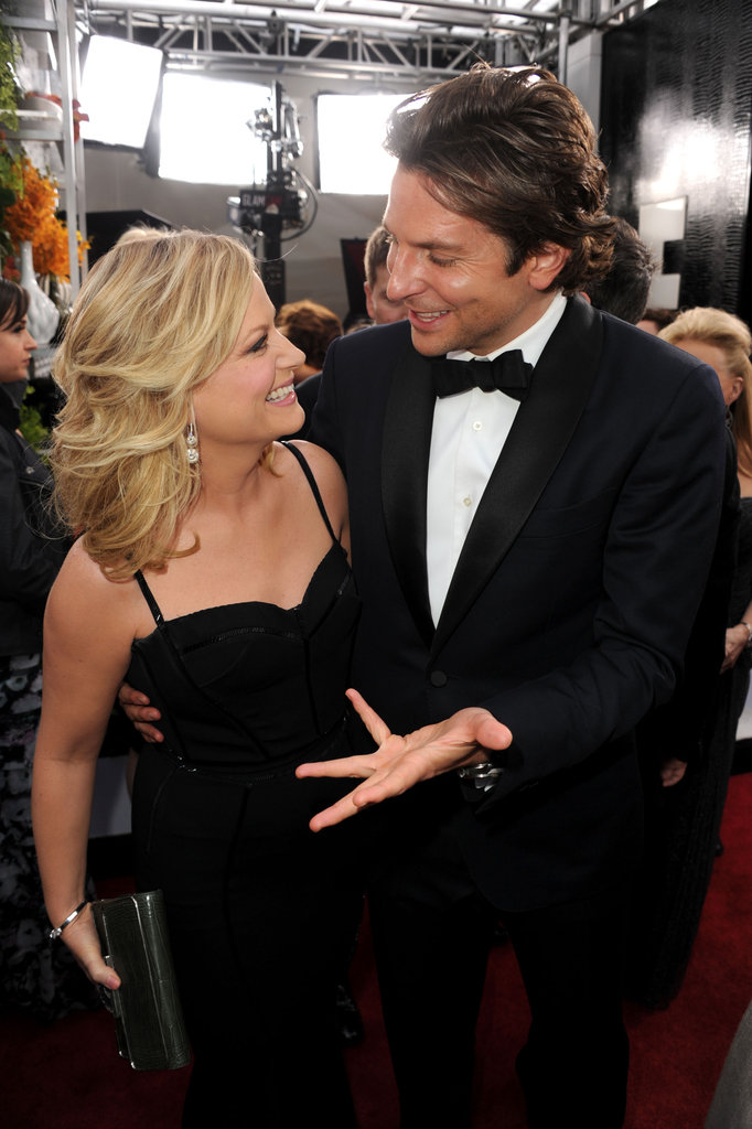 Bradley Cooper captivated Amy Poehler at January's SAG Awards.