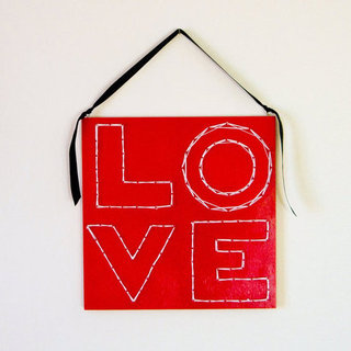 Valentine's Day DIY String Art