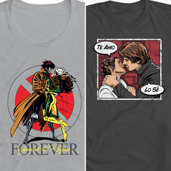 Wear Your Geek Affection in WeLoveFine.com's Valentine's Tees