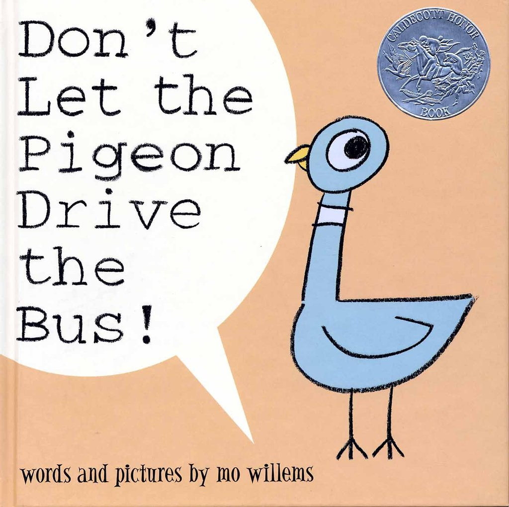 Age 2: Don't Let the Pigeon Drive the Bus!
