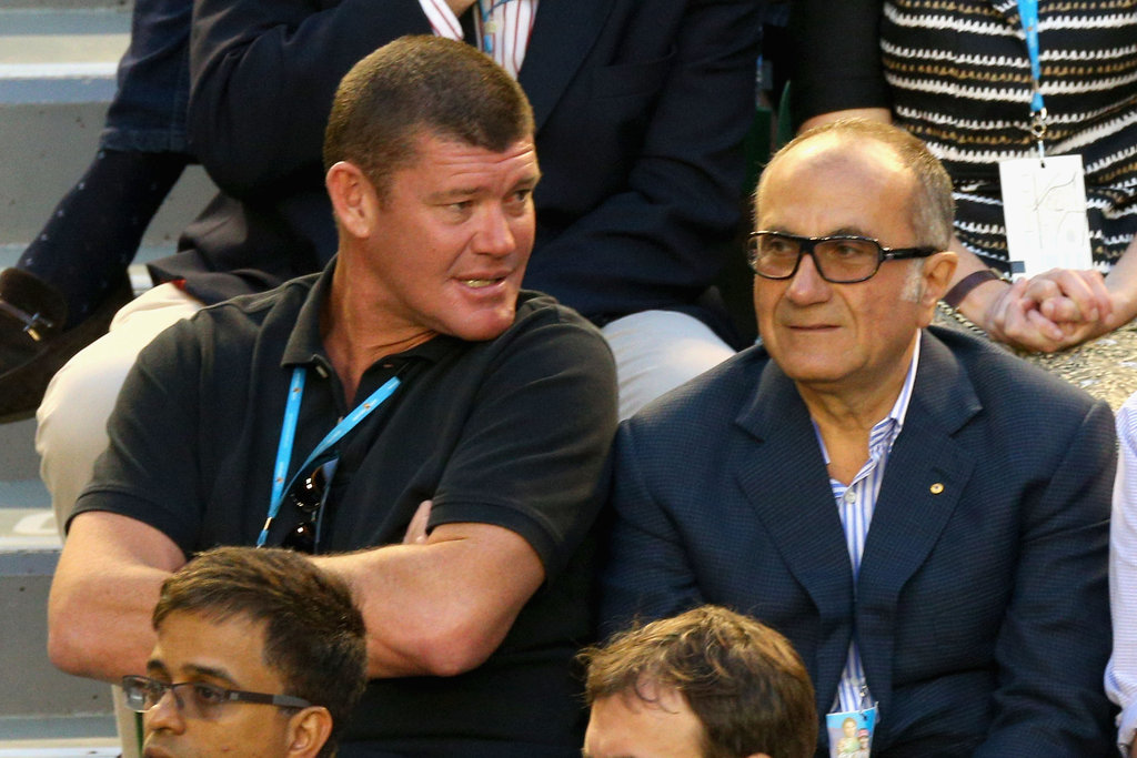 James Packer and Jacques Nasser
