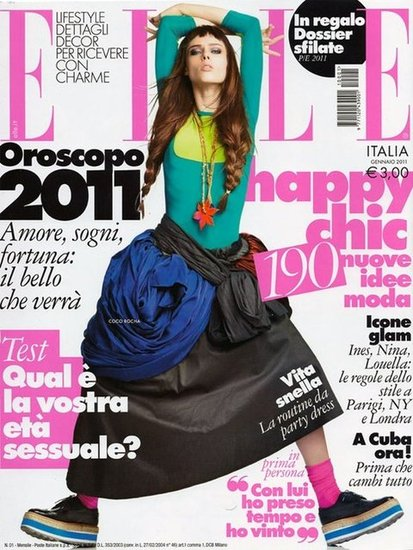 Elle Italy January 2011