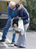 Anna Faris Breaks From Her Busy Schedule to Spend Time With Baby Jack