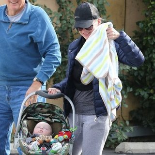 Anna Faris With Baby Jack Pratt in LA | Pictures