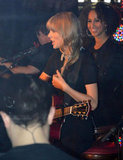 Taylor Swift Rocks a Boat in Paris During a Seine Concert