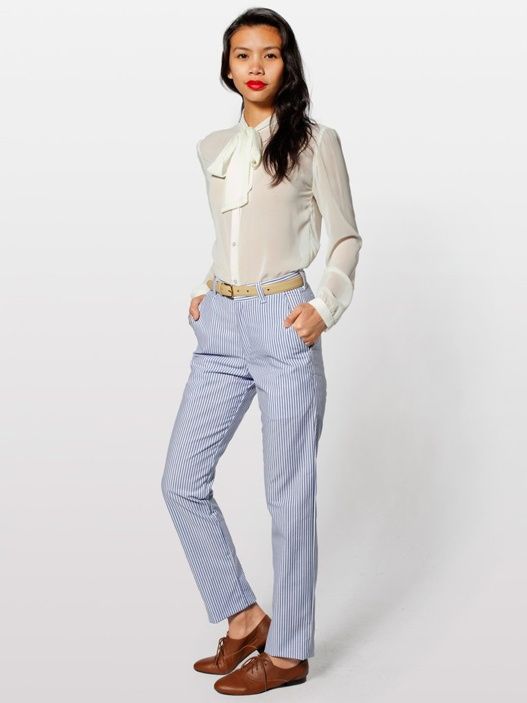 These American Apparel Welt Pocket Pants ($69) are a cute alternative to jeans.